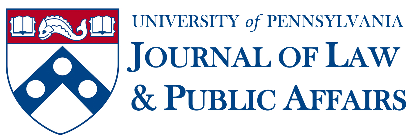 University of Pennsylvania Journal of Law and Public Affairs