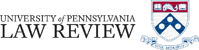 University of Pennsylvania Law Review Online